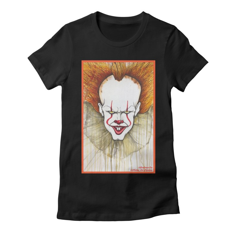Pennywise 2017 Women's Fitted T-Shirt by Evolution Comics INC