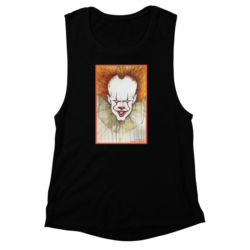 Pennywise 2017 Women's Muscle Tank by Evolution Comics INC