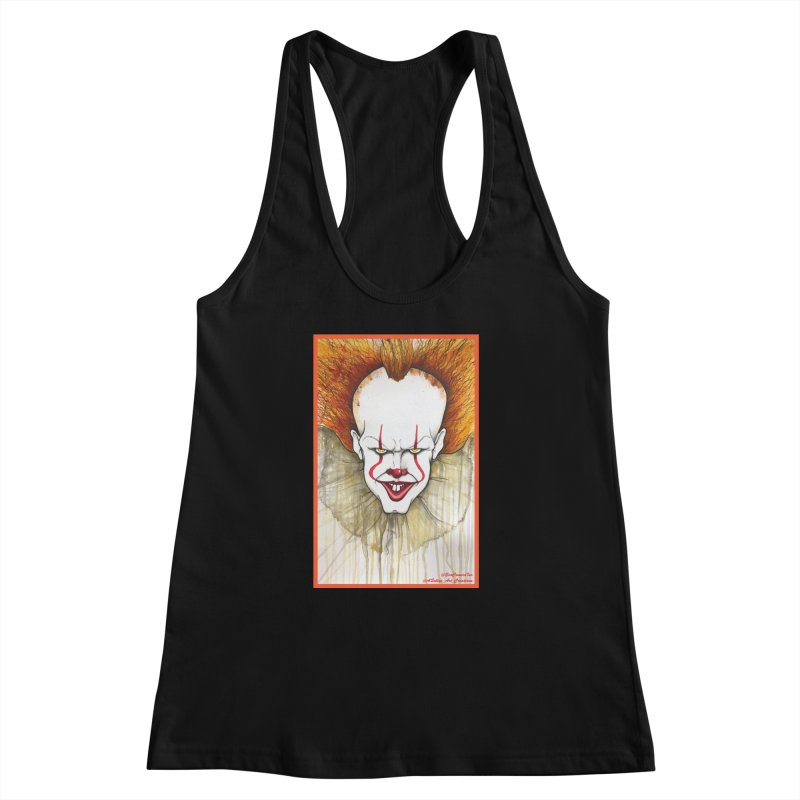 Pennywise 2017 Women's Racerback Tank by Evolution Comics INC