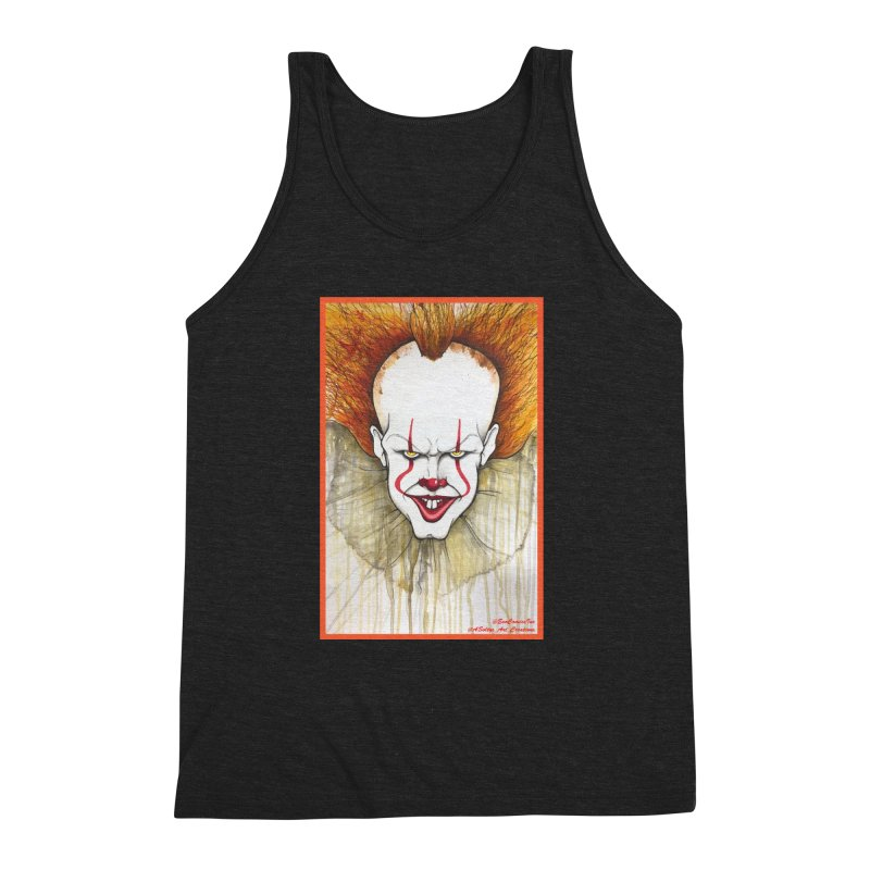 Pennywise 2017 Men's Triblend Tank by Evolution Comics INC