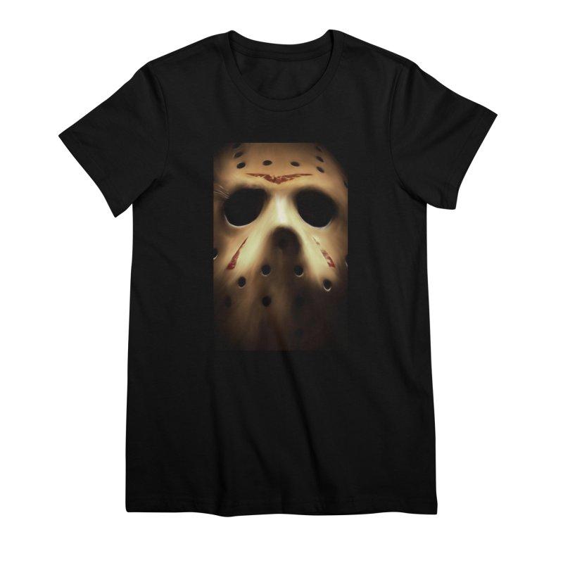 Jason Voorhees Women's Premium T-Shirt by Evolution Comics INC