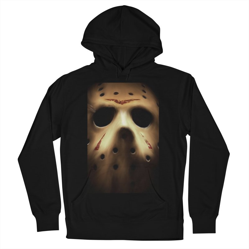 Jason Voorhees Men's French Terry Pullover Hoody by Evolution Comics INC