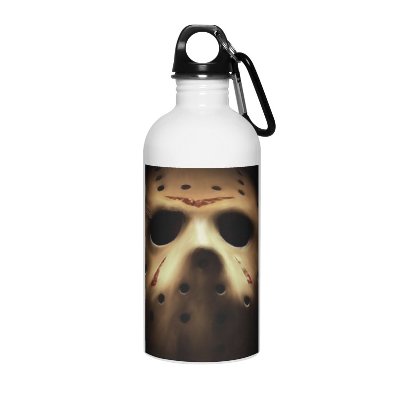 Jason Voorhees Accessories Water Bottle by Evolution Comics INC