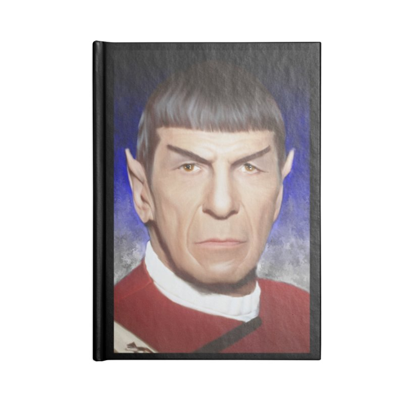 Star Trek - Spock Accessories Notebook by Evolution Comics INC