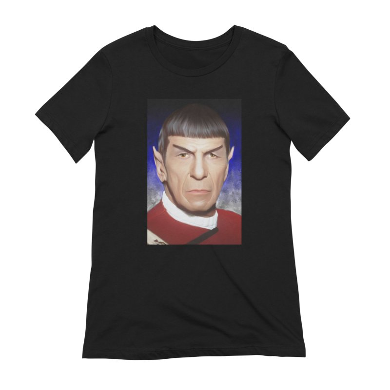Star Trek - Spock Women's Extra Soft T-Shirt by Evolution Comics INC