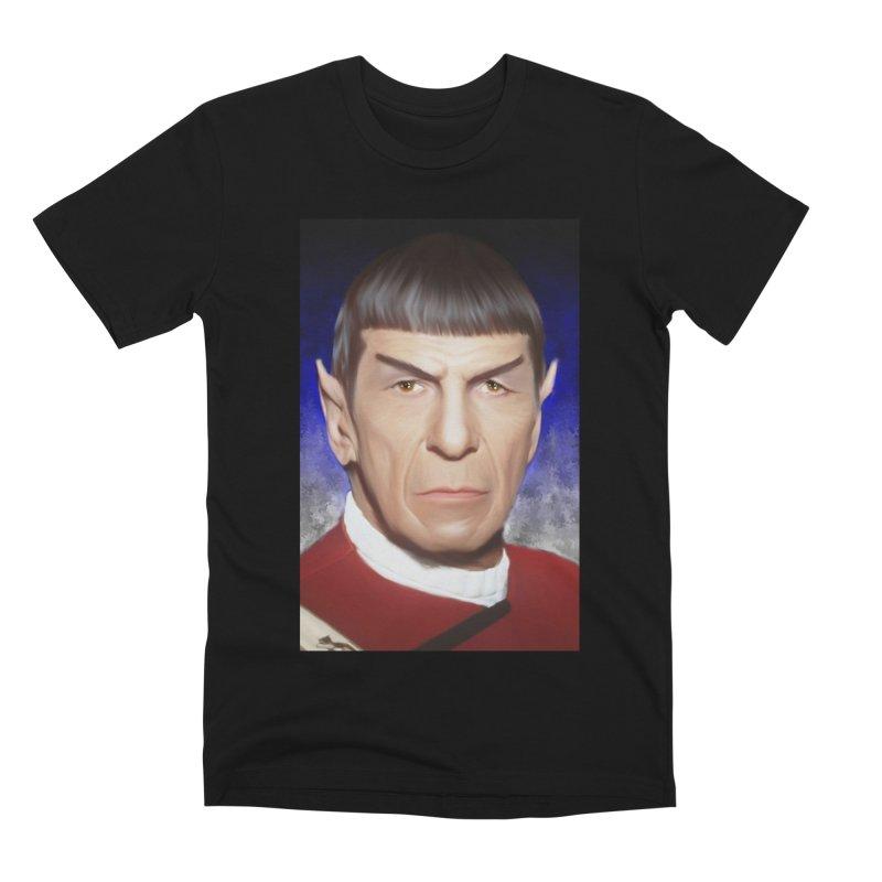 Star Trek - Spock Men's Premium T-Shirt by Evolution Comics INC