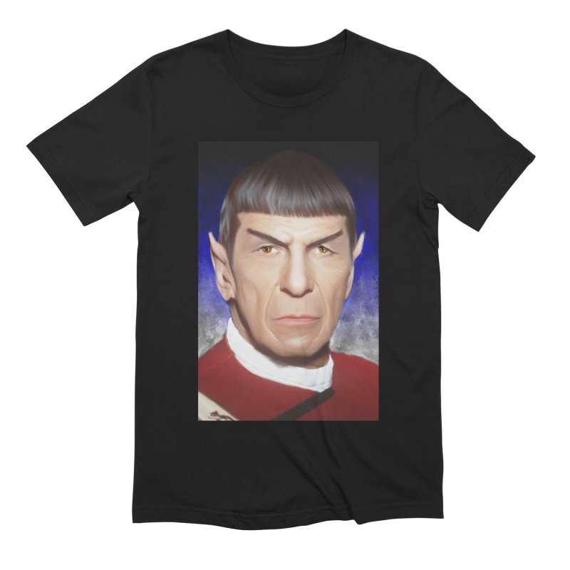 Star Trek - Spock Men's Extra Soft T-Shirt by Evolution Comics INC