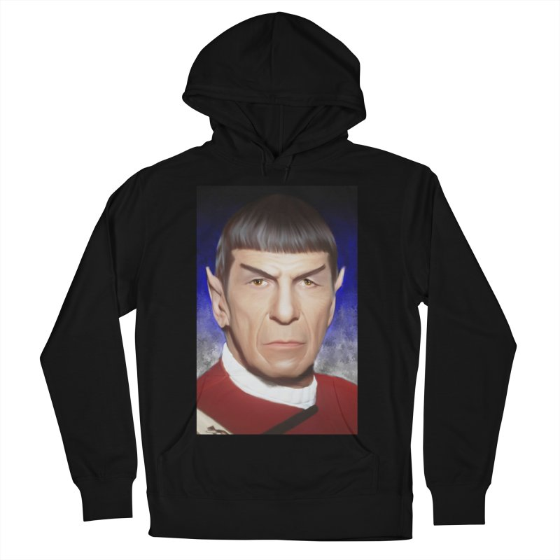 Star Trek - Spock Men's French Terry Pullover Hoody by Evolution Comics INC