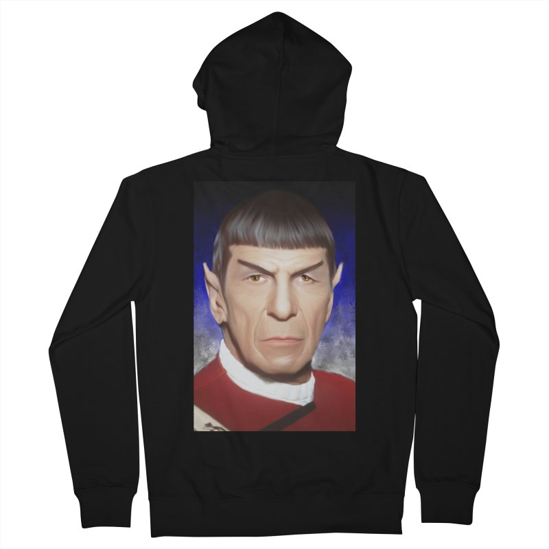 Star Trek - Spock Men's French Terry Zip-Up Hoody by Evolution Comics INC