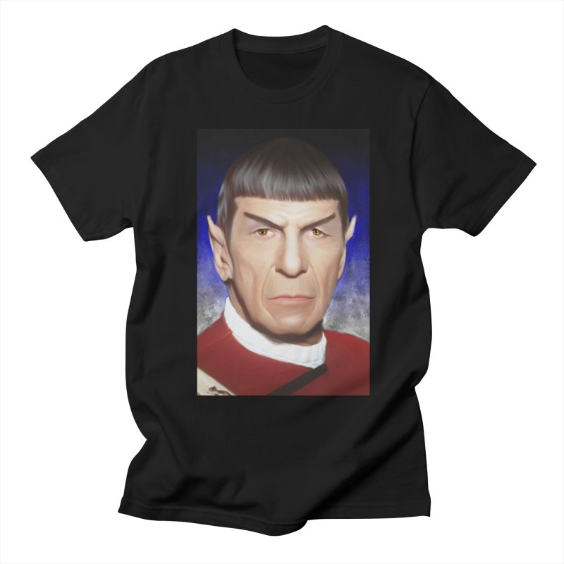Star Trek - Spock Men's Regular T-Shirt by Evolution Comics INC