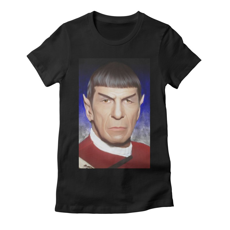 Star Trek - Spock Women's Fitted T-Shirt by Evolution Comics INC