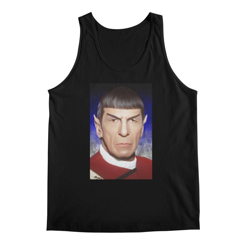 Star Trek - Spock Men's Regular Tank by Evolution Comics INC