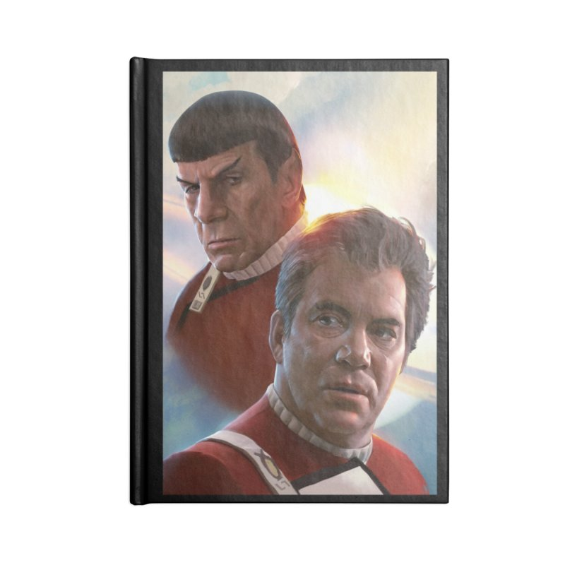 Star Trek - Kirk and Spock Accessories Notebook by Evolution Comics INC