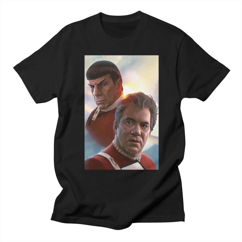 Star Trek - Kirk and Spock Men's Regular T-Shirt by Evolution Comics INC