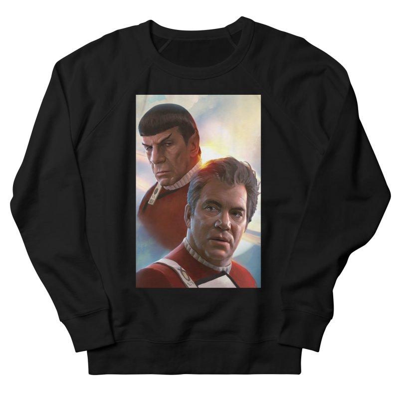 Star Trek - Kirk and Spock Men's French Terry Sweatshirt by Evolution Comics INC