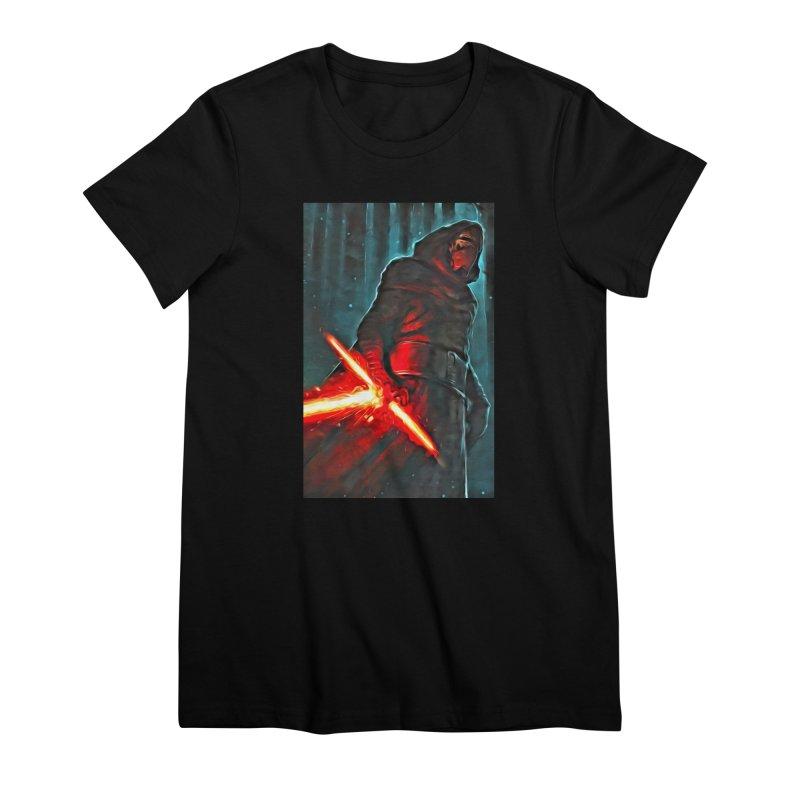 Star Wars - Kylo Ren Women's Premium T-Shirt by Evolution Comics INC