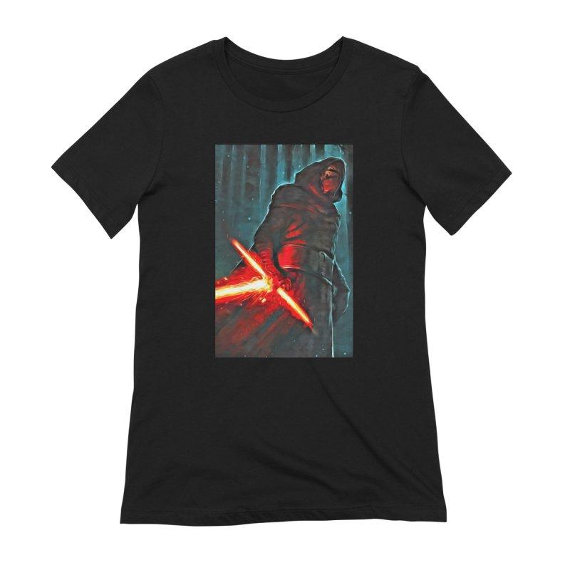 Star Wars - Kylo Ren Women's Extra Soft T-Shirt by Evolution Comics INC
