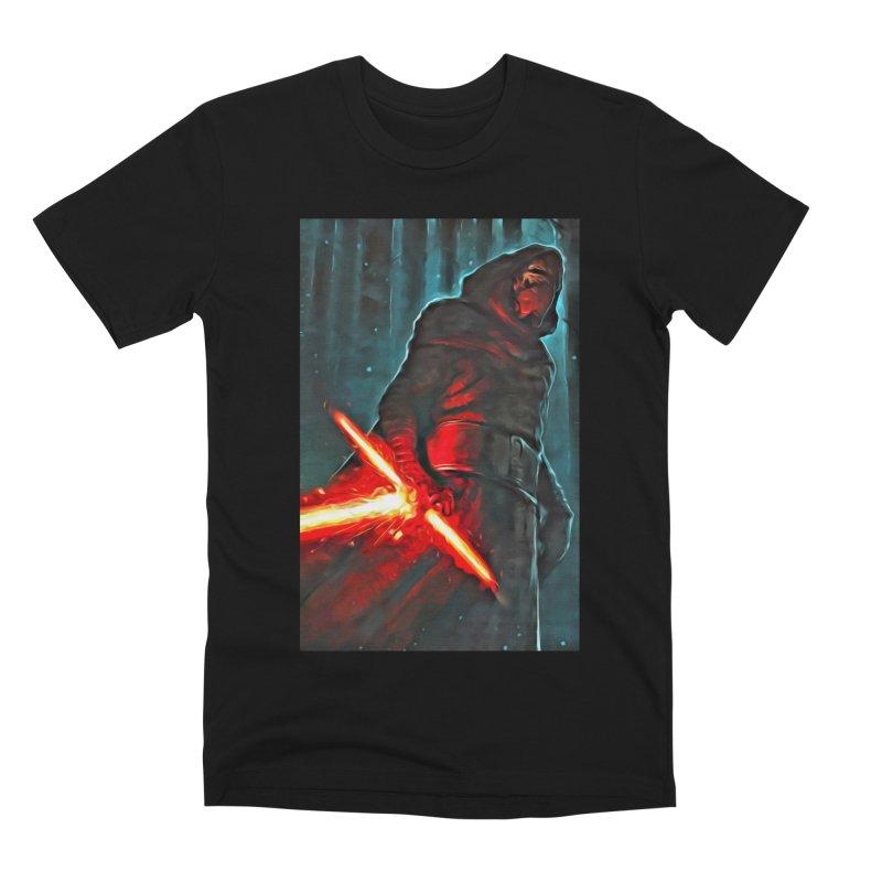 Star Wars - Kylo Ren Men's Premium T-Shirt by Evolution Comics INC