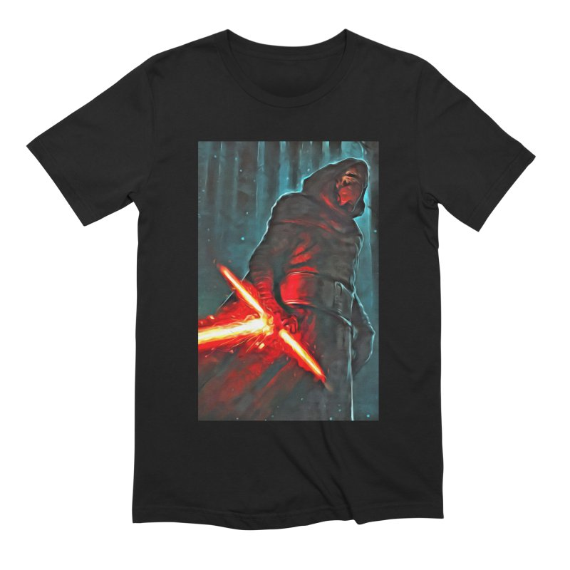 Star Wars - Kylo Ren Men's Extra Soft T-Shirt by Evolution Comics INC