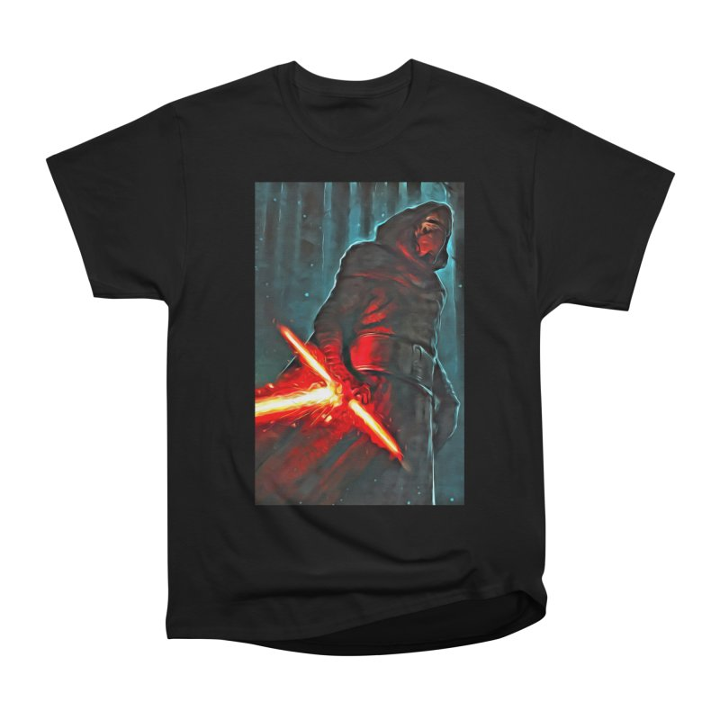 Star Wars - Kylo Ren Women's Heavyweight Unisex T-Shirt by Evolution Comics INC