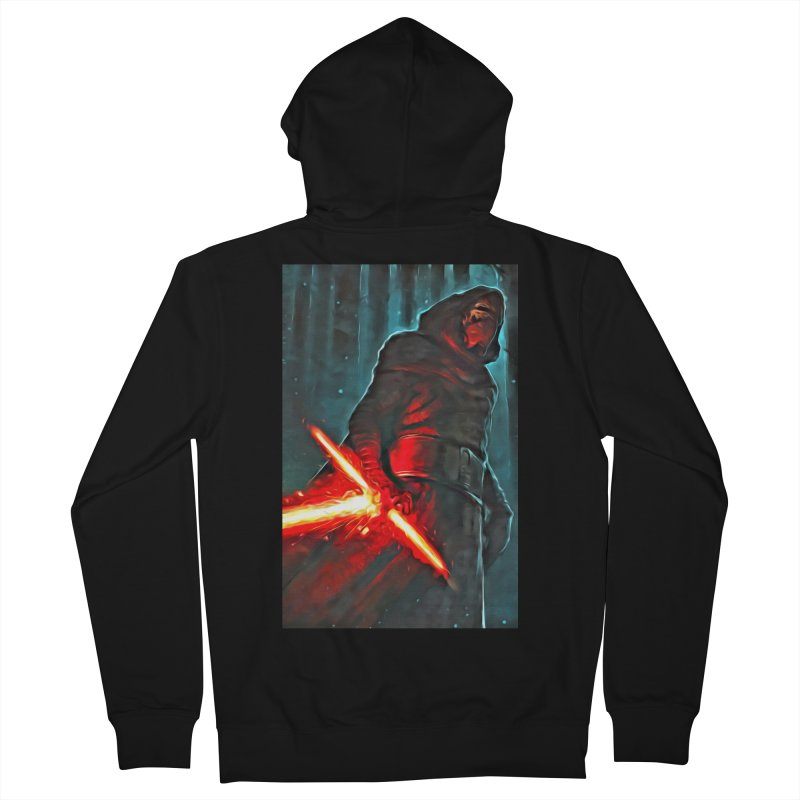 Star Wars - Kylo Ren Men's French Terry Zip-Up Hoody by Evolution Comics INC