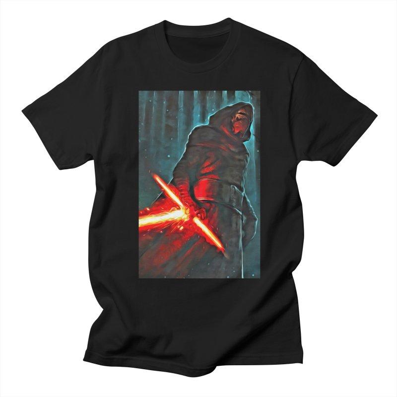 Star Wars - Kylo Ren Men's Regular T-Shirt by Evolution Comics INC