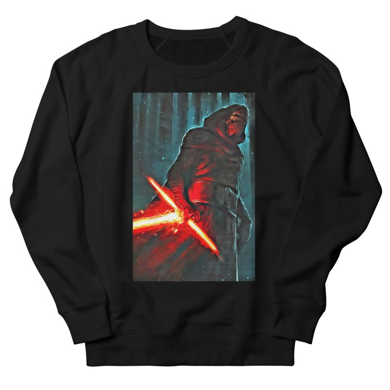 Star Wars - Kylo Ren Men's French Terry Sweatshirt by Evolution Comics INC