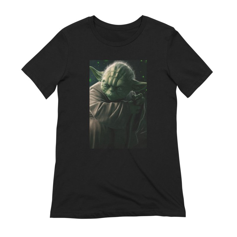Star Wars - Yoda Women's Extra Soft T-Shirt by Evolution Comics INC
