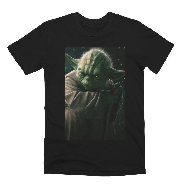 Star Wars - Yoda Men's Premium T-Shirt by Evolution Comics INC