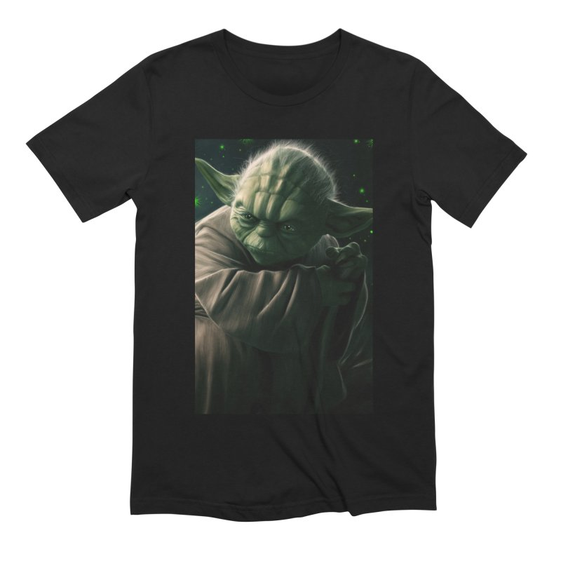 Star Wars - Yoda Men's Extra Soft T-Shirt by Evolution Comics INC