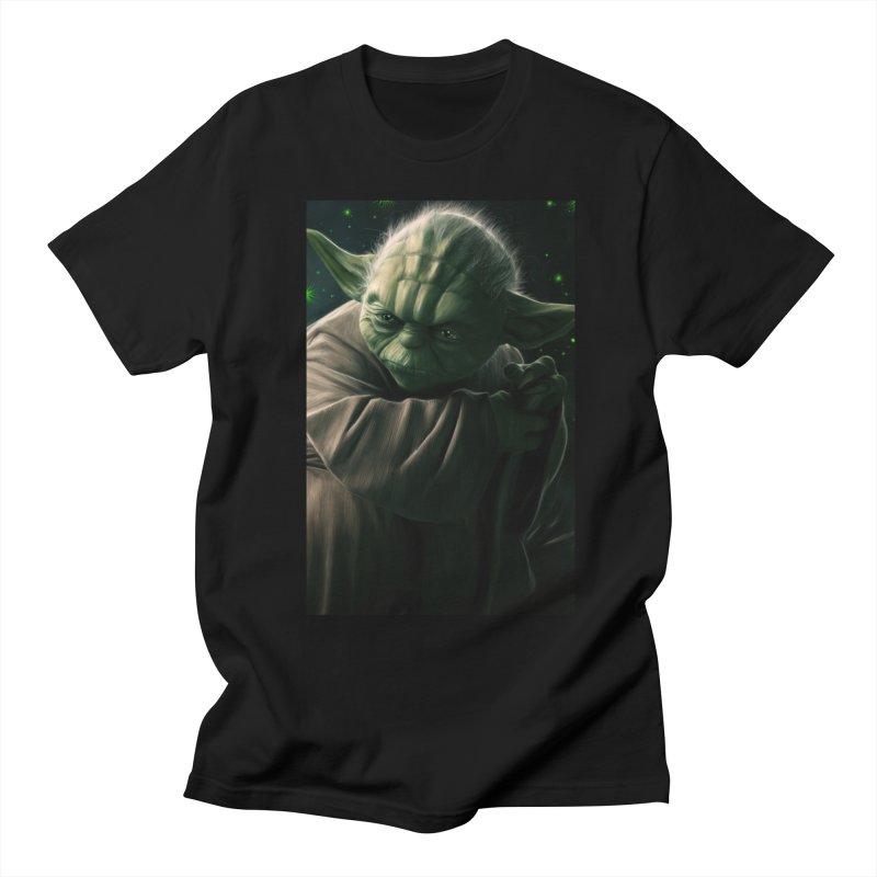 Star Wars - Yoda Men's Regular T-Shirt by Evolution Comics INC