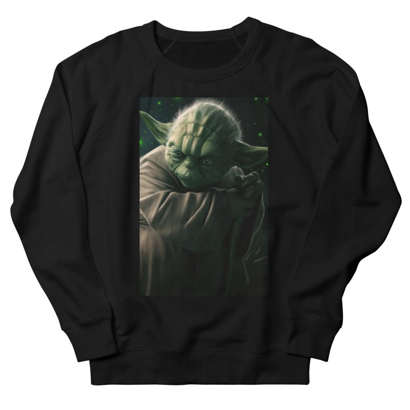 Star Wars - Yoda Men's French Terry Sweatshirt by Evolution Comics INC