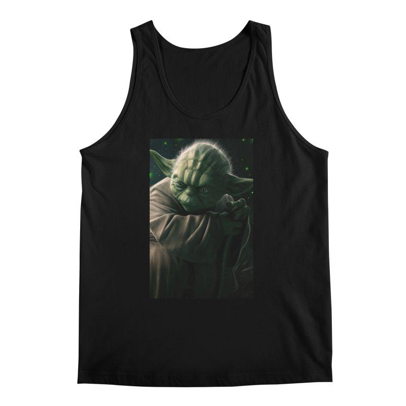 Star Wars - Yoda Men's Regular Tank by Evolution Comics INC