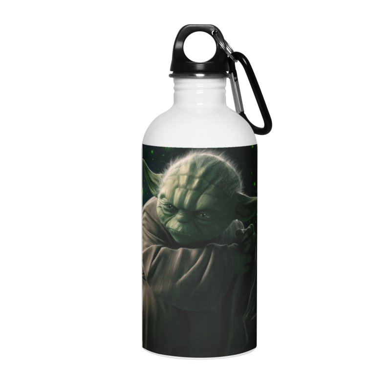 Star Wars - Yoda Accessories Water Bottle by Evolution Comics INC