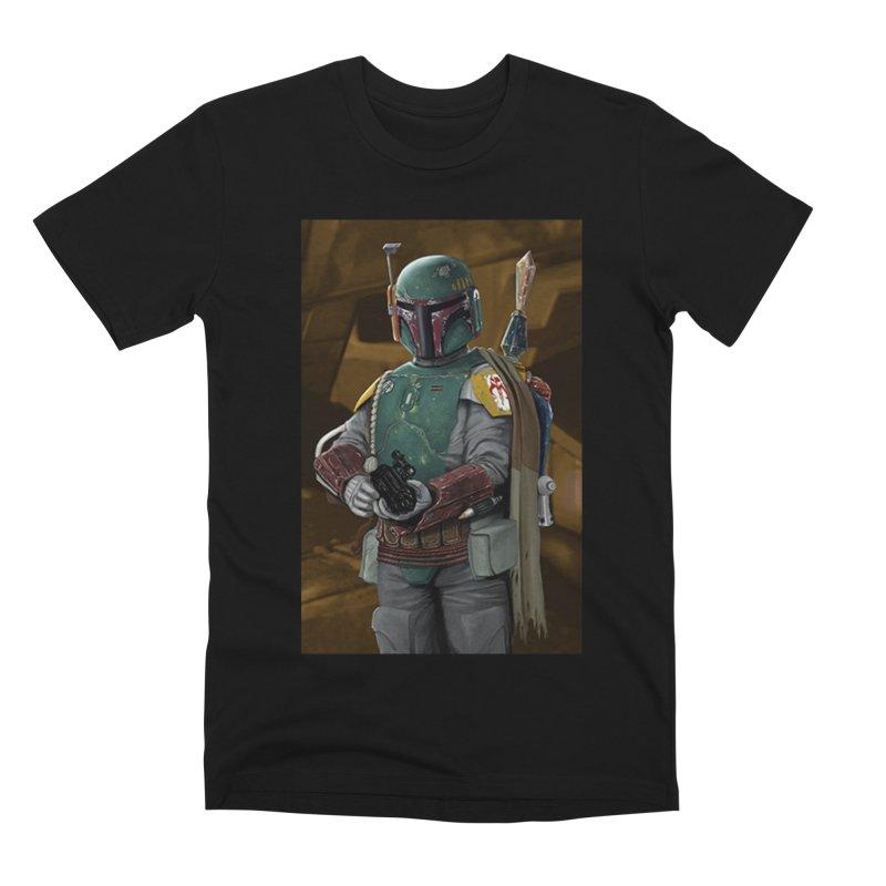 Star Wars - Boba Fett Men's Premium T-Shirt by Evolution Comics INC
