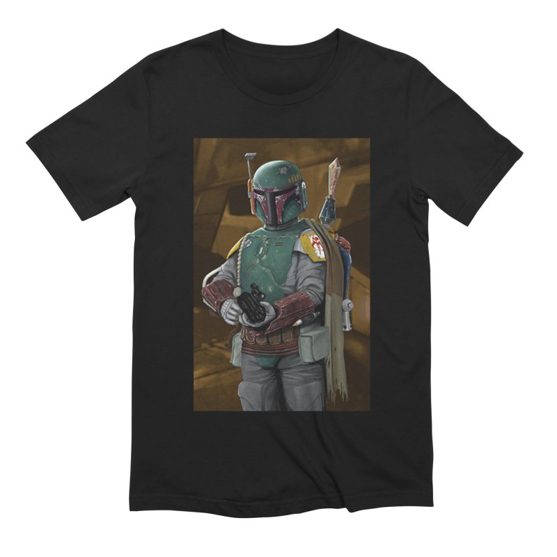 Star Wars - Boba Fett Men's Extra Soft T-Shirt by Evolution Comics INC