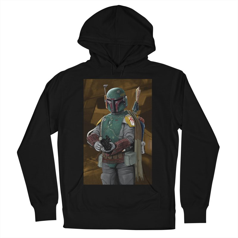Star Wars - Boba Fett Women's French Terry Pullover Hoody by Evolution Comics INC