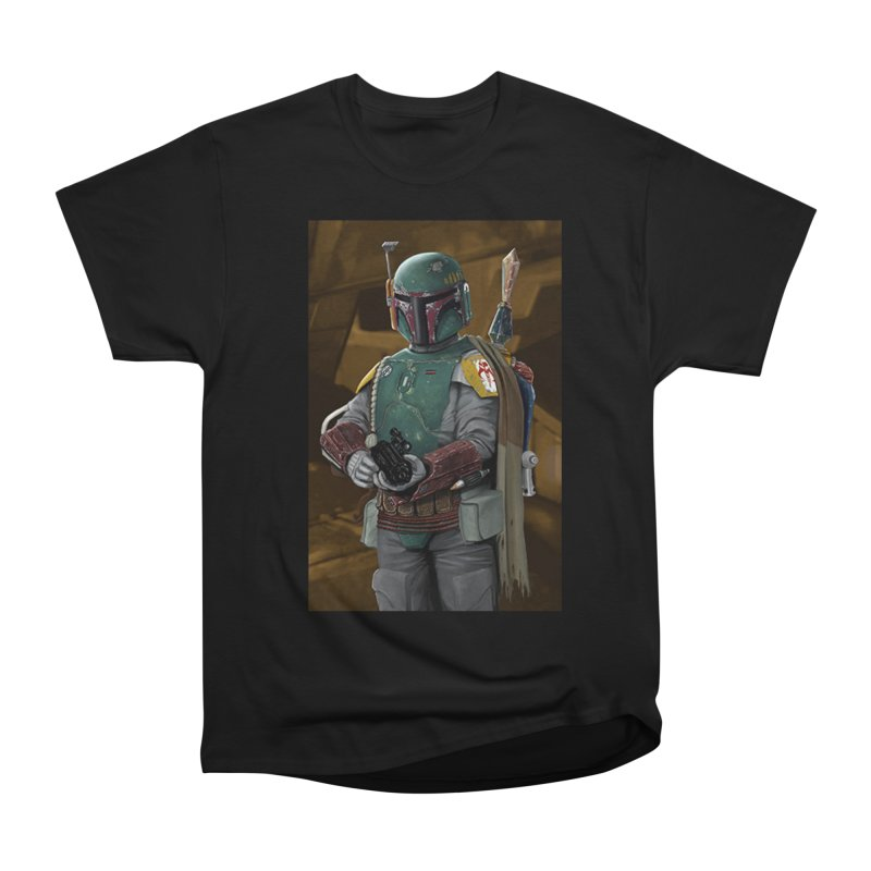 Star Wars - Boba Fett Women's Heavyweight Unisex T-Shirt by Evolution Comics INC