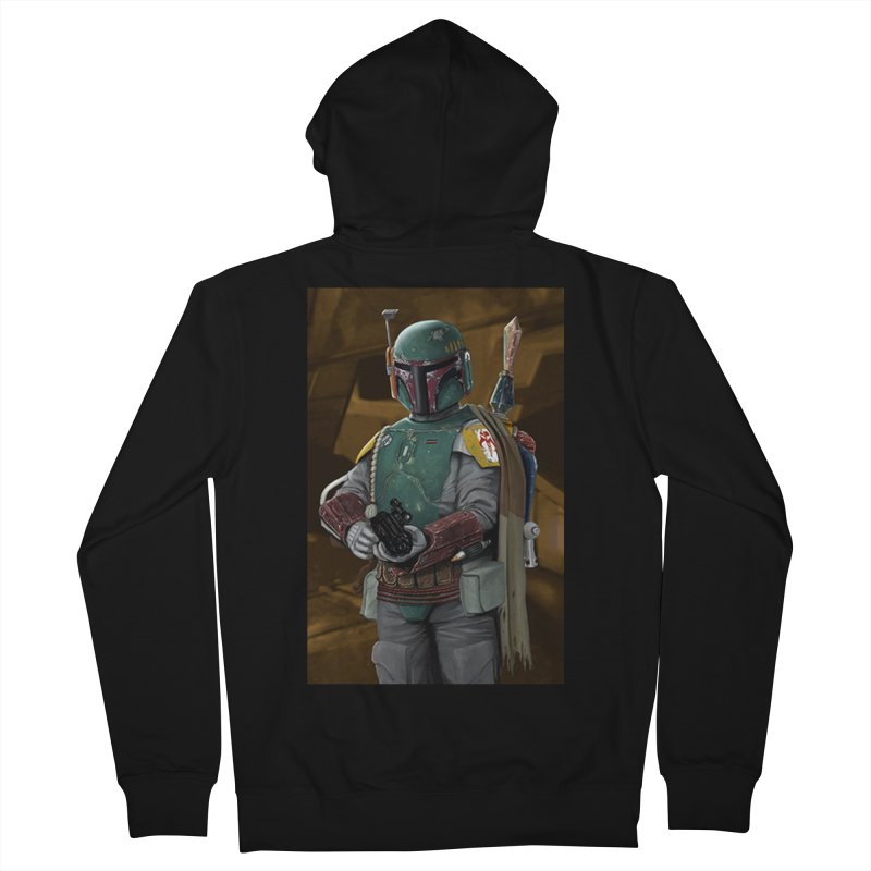 Star Wars - Boba Fett Women's French Terry Zip-Up Hoody by Evolution Comics INC