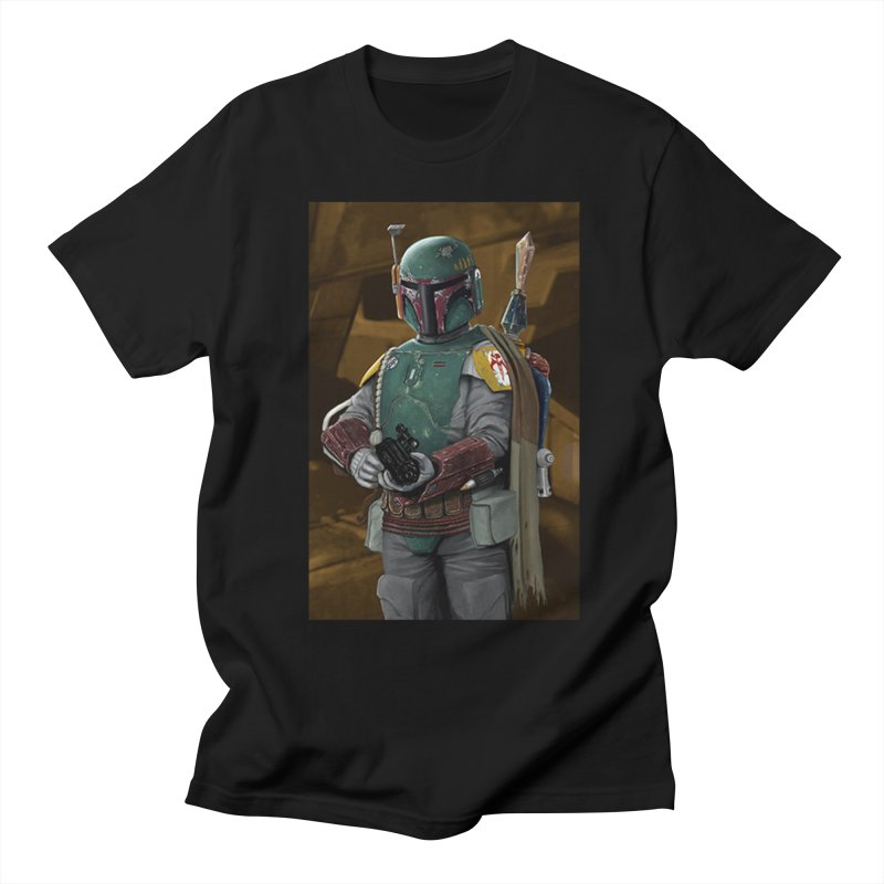 Star Wars - Boba Fett Men's Regular T-Shirt by Evolution Comics INC