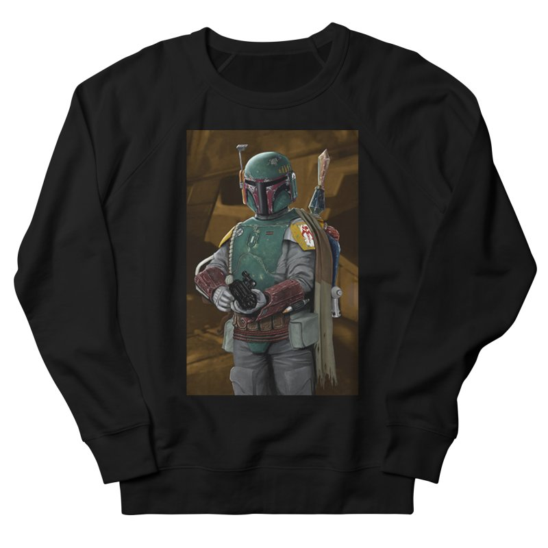 Star Wars - Boba Fett Men's French Terry Sweatshirt by Evolution Comics INC
