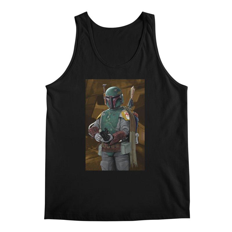 Star Wars - Boba Fett Men's Regular Tank by Evolution Comics INC