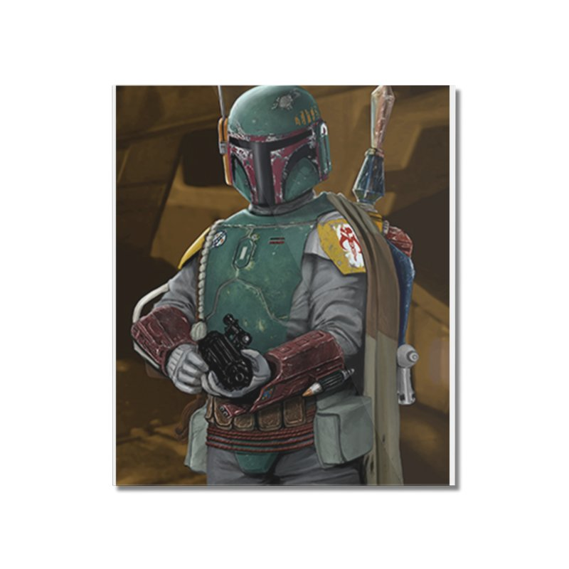 Star Wars - Boba Fett Home Mounted Acrylic Print by Evolution Comics INC