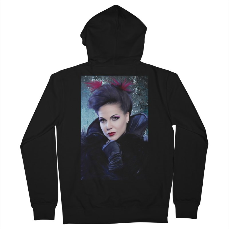 Once Upon A Time - Regina Men's French Terry Zip-Up Hoody by Evolution Comics INC
