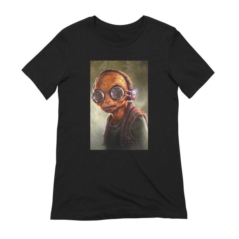 Star Wars - Maz Kanata Women's Extra Soft T-Shirt by Evolution Comics INC