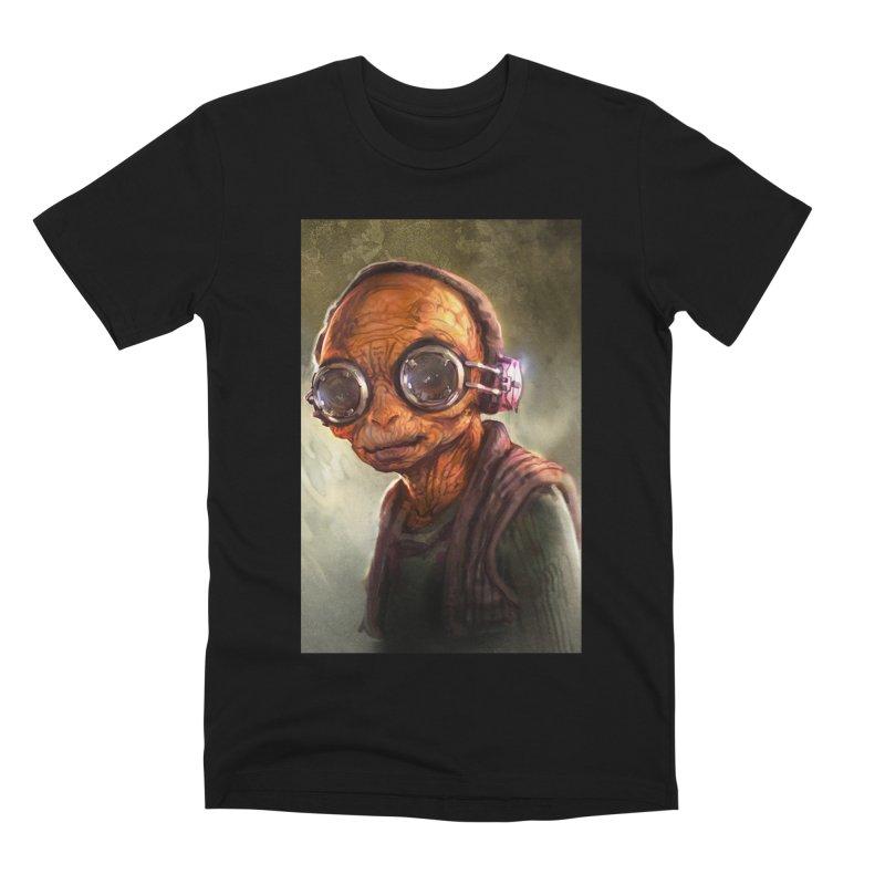 Star Wars - Maz Kanata Men's Premium T-Shirt by Evolution Comics INC