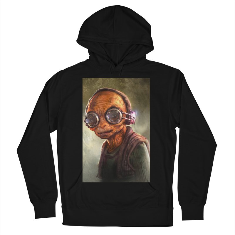 Star Wars - Maz Kanata Men's French Terry Pullover Hoody by Evolution Comics INC