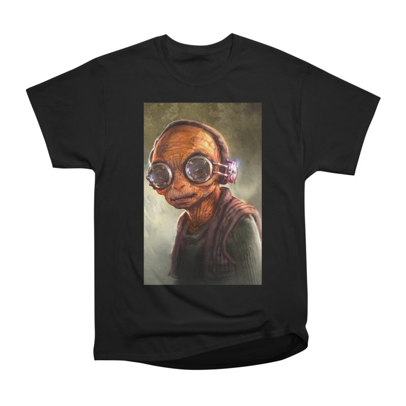 Star Wars - Maz Kanata Women's Heavyweight Unisex T-Shirt by Evolution Comics INC