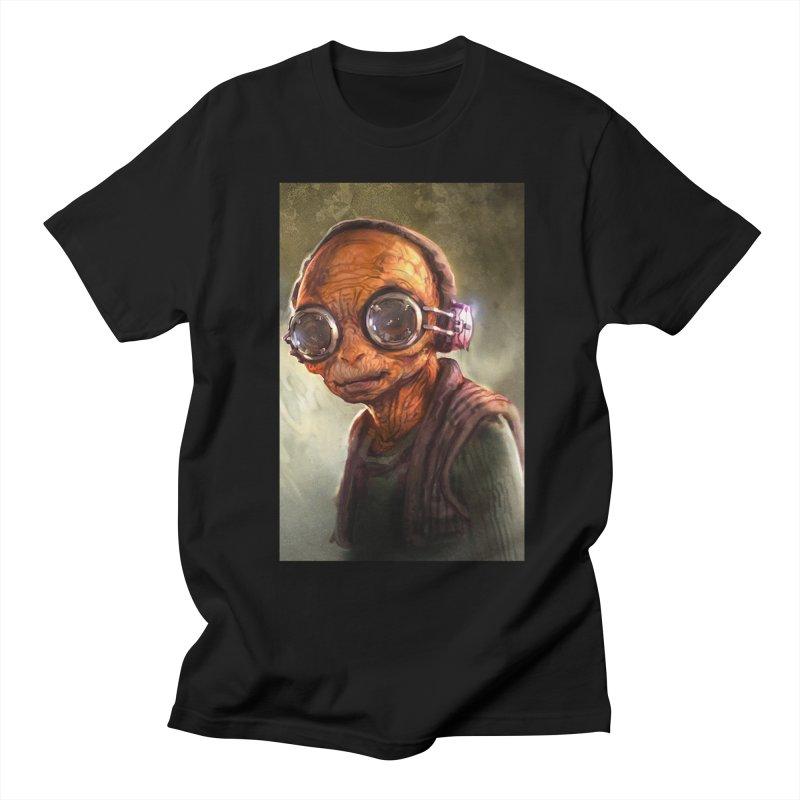 Star Wars - Maz Kanata Men's Regular T-Shirt by Evolution Comics INC