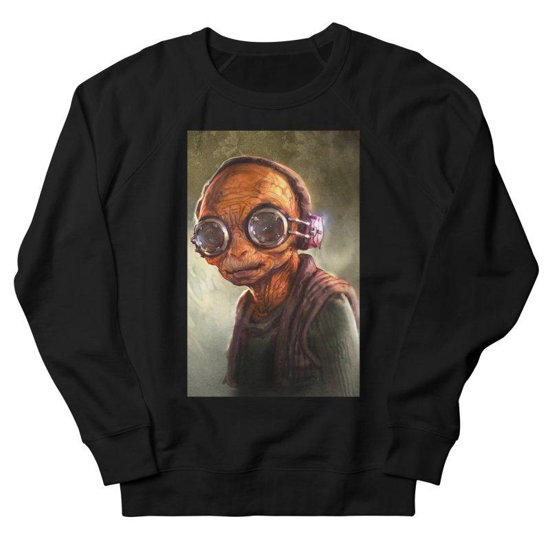 Star Wars - Maz Kanata Men's French Terry Sweatshirt by Evolution Comics INC